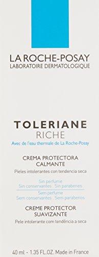 La Roche-Posay Toleriane Riche Daily Soothing Nourishing Face Cream for Sensitive Skin, 1.35 Fl. Oz.