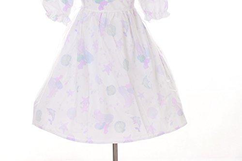 JSK-18 Meerjungfrau Mermaid Muscheln weiß Cute Pastel Goth Lolita Kleid Cosplay ZTSTC0bQ9
