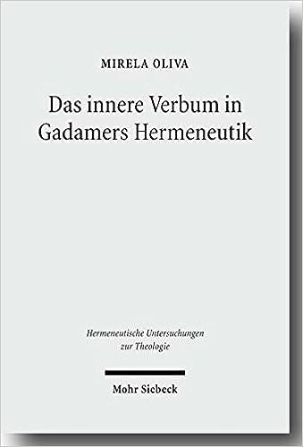 The Middle Voice in Gadamer's Hermeneutics - Mohr Siebeck