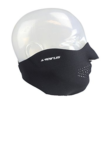 Seirus Innovation 6805 Original Neoprene Adjustable Face Masque - Winter Cold Weather Face Protection Black,X-Small Seirus Face Mask