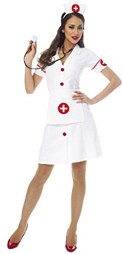 Classic Nurse Adult Costume -