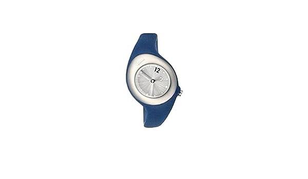 6faa6e2f02cd Nike Reloj analogico para Mujer de Cuarzo con Correa en Caucho WR0070-410   Amazon.es  Relojes