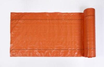 Mutual MISF 1845 Polyethylene Silt Fence Fabric, 100' Length x 36