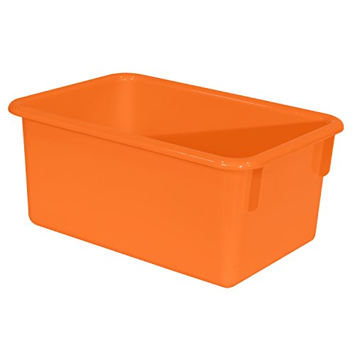 Wood Designs Kids Orange Rectangular Storage