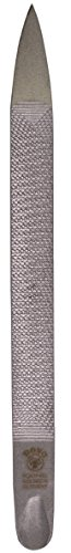Dovo 407405 Triple-Cut Stainless Steel Nail File, ()