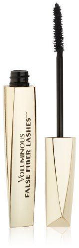 L'Oréal Paris Voluminous False Fiber Lashes Mascara, Black, 0.34 fl. oz. (Best False Lash Effect Mascara)