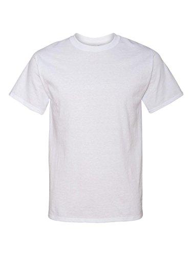 Jerzees Tall 5.6 oz., 50/50 Heavyweight Blend™ T-Shirt, XLT, WHITE ()