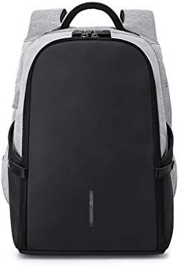 BAJIMI ポート盗難防止トラベルバックパックメンズ大容量のビジネス14インチコンピュータバッグ学生パケットを充電多機能USB (Color : #2)