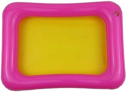 Bandeja de Arena Inflable Castillo Mesa móvil Caja de Arena de PVC Bandeja sensorial Divertido Juego de Interior Juguetes Bandeja de Piscina para niños - Aleatorio - 35x25cm: Amazon.es: Juguetes y juegos