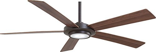 Minka Ceiling Oil - Minka-Aire F745-ORB, Sabot Oil-Rubbed Bronze 52 Ceiling Fan with Light & Remote Control by Minka-Aire
