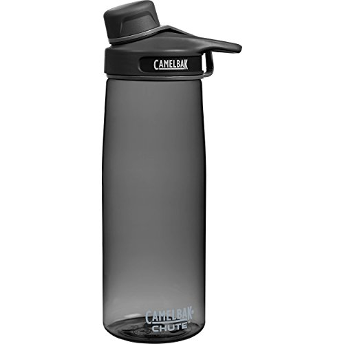 CamelBak Chute Water Bottle, 0.75 L, Charcoal