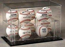 Ten Baseball 2 Tier Desk Mount Display Case by ncaseit