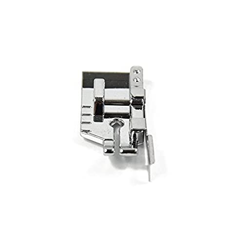 1-4 (Quarter Inch) Quilting Sewing Machine Presser Foot with Edge Guide - Fits All Low Shank Snap-On Singer, Brother, Babylock, Euro-Pro, Janome, Kenmore and - Euro Pro Sewing