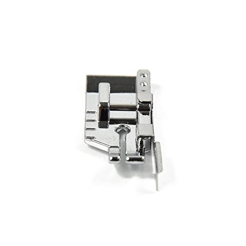1-4 (Quarter Inch) Quilting Sewing Machine Presser Foot with Edge Guide - Fits All Low Shank Snap-On Singer, Brother, Babylock, Euro-Pro, Janome, Kenmore and More Attachment / spare part -  XUCHUAN, 9901