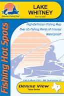 Lake Whitney Waterproof Fishing Map (Texas Fishing Map Series, L715)