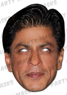 Shah Rukh Khan Celebrity Face Mask (mask/headpiece