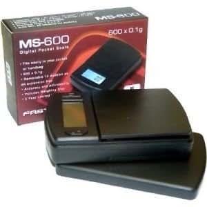 Fast Weigh Digital Pocket Scale Ms - 600 600g X 0.1g