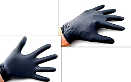 zerodis Einweg Handschuhe Large 100//Box 50/Paar Einweg-Nitril Handschuhe nicht Latex puderfrei Home K/üche Reinigung Speisen Universal