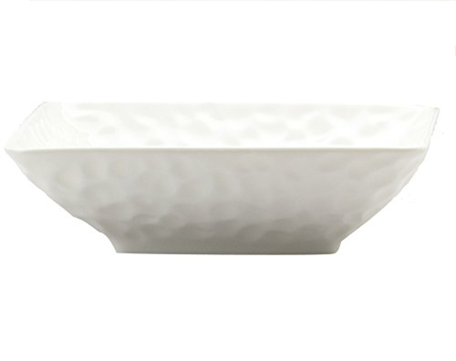 Red Vanilla 20 oz Marble Rectangular Soup/Cereal Bowl, Set of 6, 7