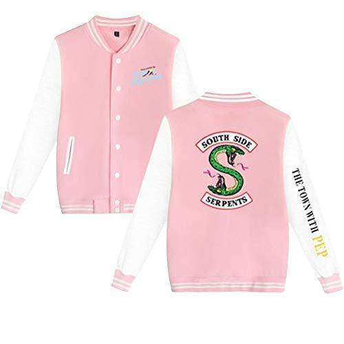 Aibayleef Southside Hop Hip Con 12 Donna Giacche Serpents Tasche Top Color E Riverdale Cappotto Giacca Bottoni Blazer qrcY5qw0