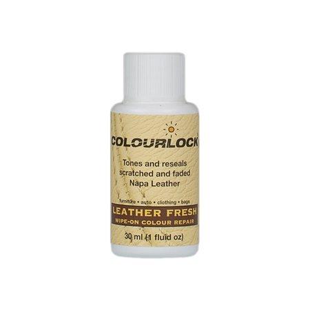 COLOURLOCK Leather Fresh dye 1fl oz DIY Black Repair dye, restorer for scuffs, small cracks (Divano Borsa)