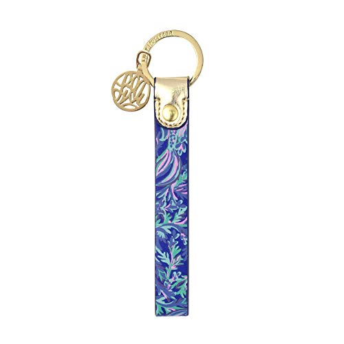 Lilly Pulitzer Strap Key Fob Key Chain (In Reel Life)