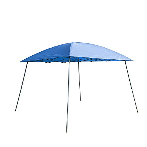 Goodgojo 10'x 10' EZ Pop-up Canopy Tent Instant Gazebo Outdoor Tent with Carry Bag for Party Wedding Camping (10'x 10', Blue)