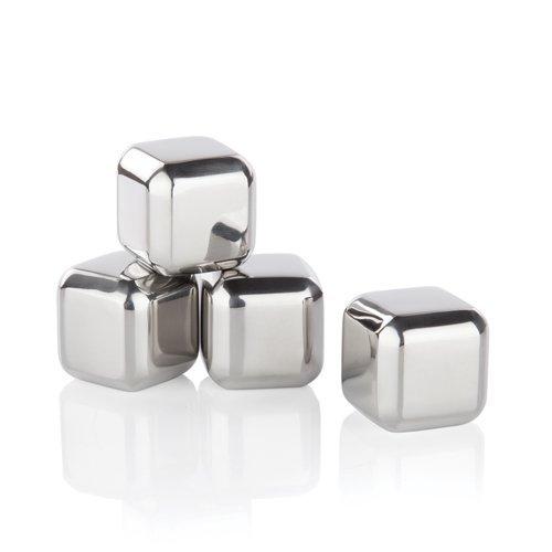 - Glacier Rocks Small Stainless Steel Cubes by Viski