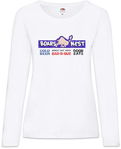 shirt Larga Nest Tamaños Xs T Mujer De Boars Manga – Women 2xl xIwqTg06