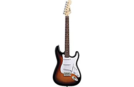 Squier Fender Stratocaster guitarra eléctrica - Sunburst.: Amazon.es: Juguetes y juegos