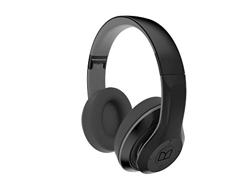 Monster NTune 450 On-Ear Bluetooth Wireless Headphones Latest 2019 Model (Black)