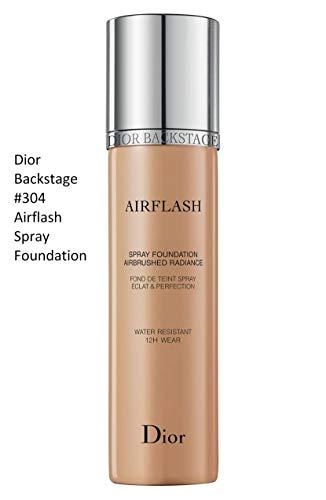 Dior Backstage Airflash Spray Foundation 304 Almond Beig (Light to medium: cool undertone, balances redness) 2.3 ()
