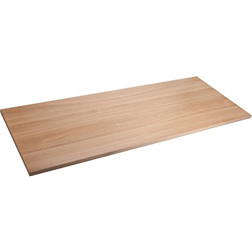Lorell Quadro Sit/Stand Straight Edge Latte Tabletop-Rectangle Top-60 Width X 24 Depth X 1 Thickness LLR59606