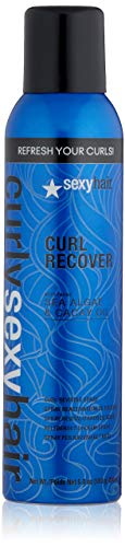 SEXYHAIR Curly Curl Recover Reviving Spray, 6.8 oz