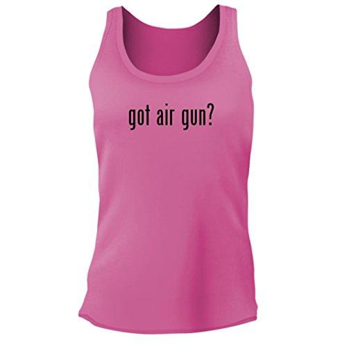 - Tracy Gifts got air Gun? - Women's Junior Cut Adult Tank Top, Pink, Small