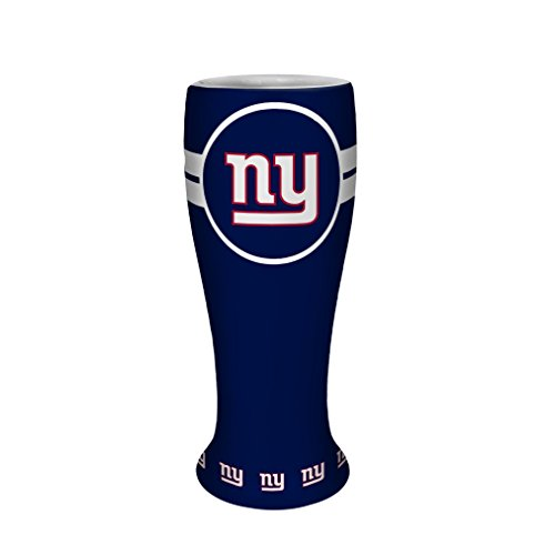 NFL New York Giants Ceramic Collectible Pilsner, 2.5-ounce