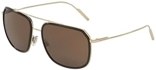 Dolce & Gabbana Men's DG2165 Brown/Pale Gold/Brown ()