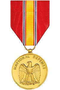 Medals of America National Defense Service Medal Anodized
