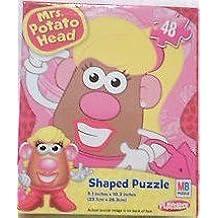 Mrs. Potato Head Shaped Jigsaw Puzzle - 48 Pieces