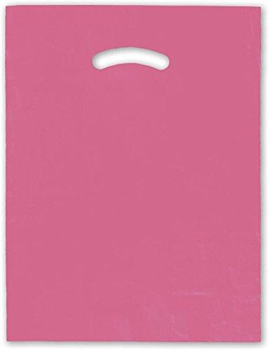 """EGP Die-Cut Handle Bag 12 x 15"""" (Pink)"""