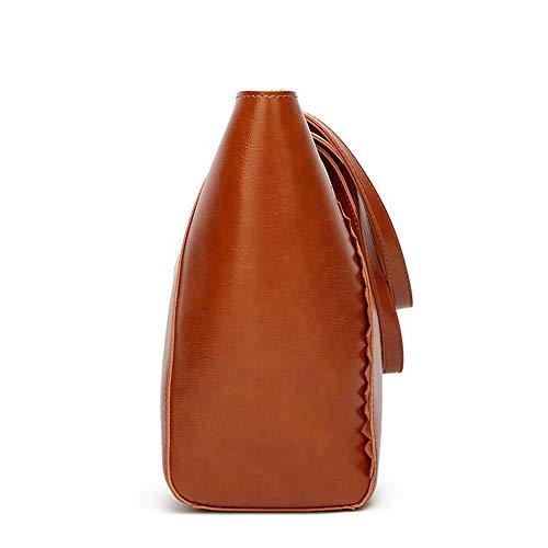Brown Simple Femme GWQGZ Rétro Bandoulière Sac À À Main Mode Sac Sac À Nouveau pour Simple Bandoulière La À Marron CC1AwxHTq