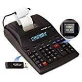 1280-7 Two-Color Printing Calculator W/usb, Black/red Print, 4.6 Lines/sec By: Victor
