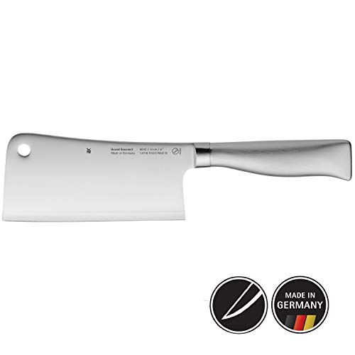WMF Grand Gourmet Chinesisches Hackmesser 28,5 cm, Spezialklingenstahl, Made in Germany, Messer geschmiedet, Performance Cut, Klinge 15 cm