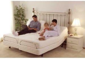DynastyMattress 12-Inch Split-King Luxury Gel Memory Foam Mattre