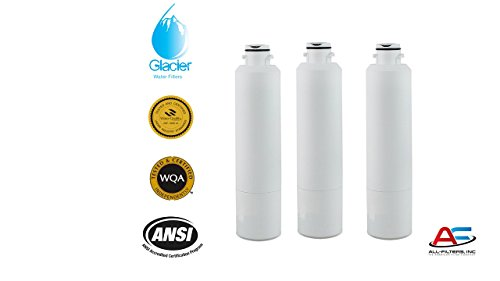 (3 Pack) Refrigerator Water Filter Replacement for Samsung DA29-00020B, DA29-00020A, HAF-CIN/EXP, HAF-CIN EXP, HAF-CIN-EXP, HAF-CINEXP, 46-9101