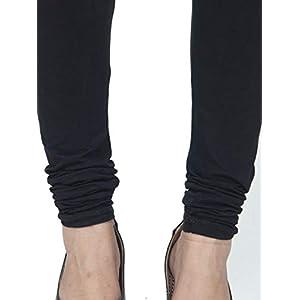 Ethnic Girls-Wear Tradition Women's Free Size Churidar Legging Cotton Lycra 4 Way Stretchable