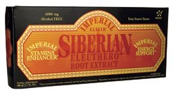 Imperial Elixir Ginseng Siberian Eleuthero Extract Vials, 10 Count from Imperial Elixir
