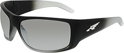 Arnette La Pistola AN4179-09 Wrap Sunglasses, Black, 66 mm