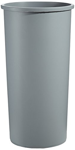 Rubbermaid FG354600 Gray 22 Gallon Untouchable Round Container (Renewed)