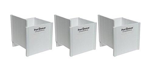 Post Shields White 3 5